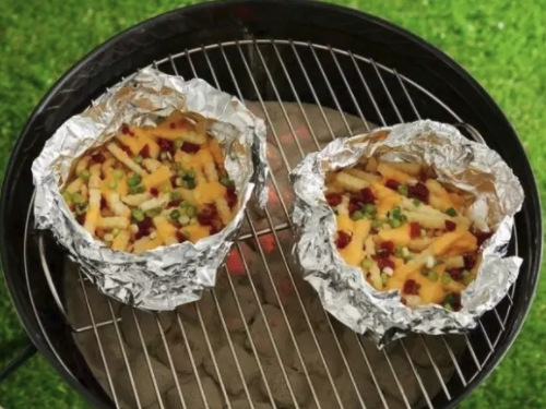 pack food cooking hack while camping