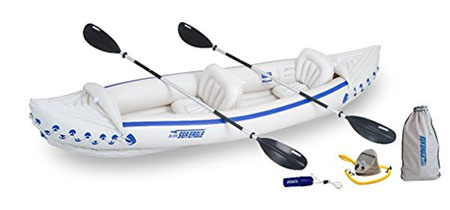 inflatable kayak that can fit in the trunk of a car