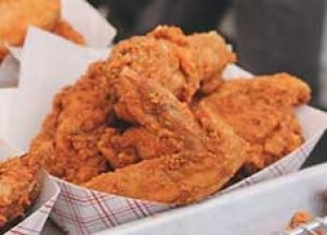golden fried chicken