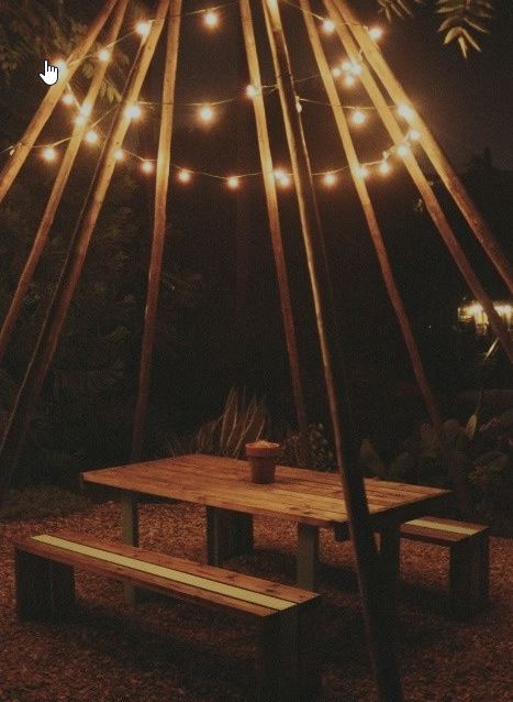 glamping lighting ideas