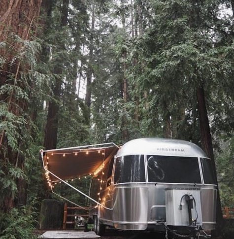 glamping ideas with an rv