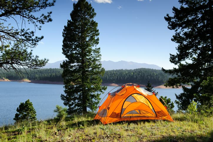 best camping in CO