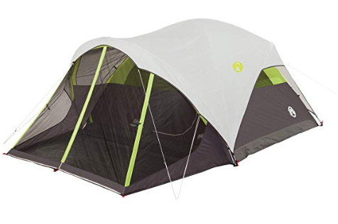 Roll over image to zoom in Coleman Steel Creek Fast Pitch Dome Tent with Screen Room, 6-Person Review