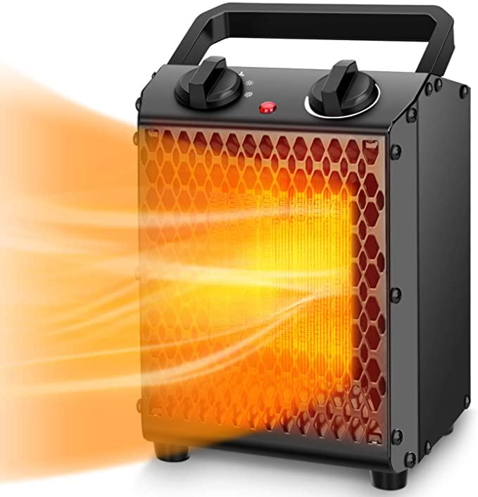 Portable heater used for tent camping